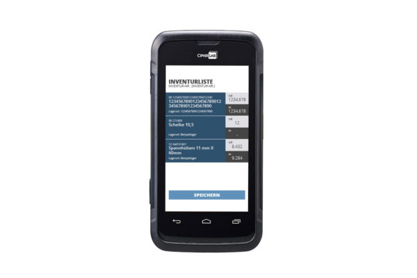 C.O.S. Scanner mit Touchscreen